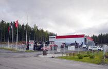 Stock site Komatsu Forest Oy