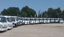 Stock site Municipal cleaning vehicles