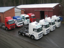 Stock site Osamyynti Trucks OY
