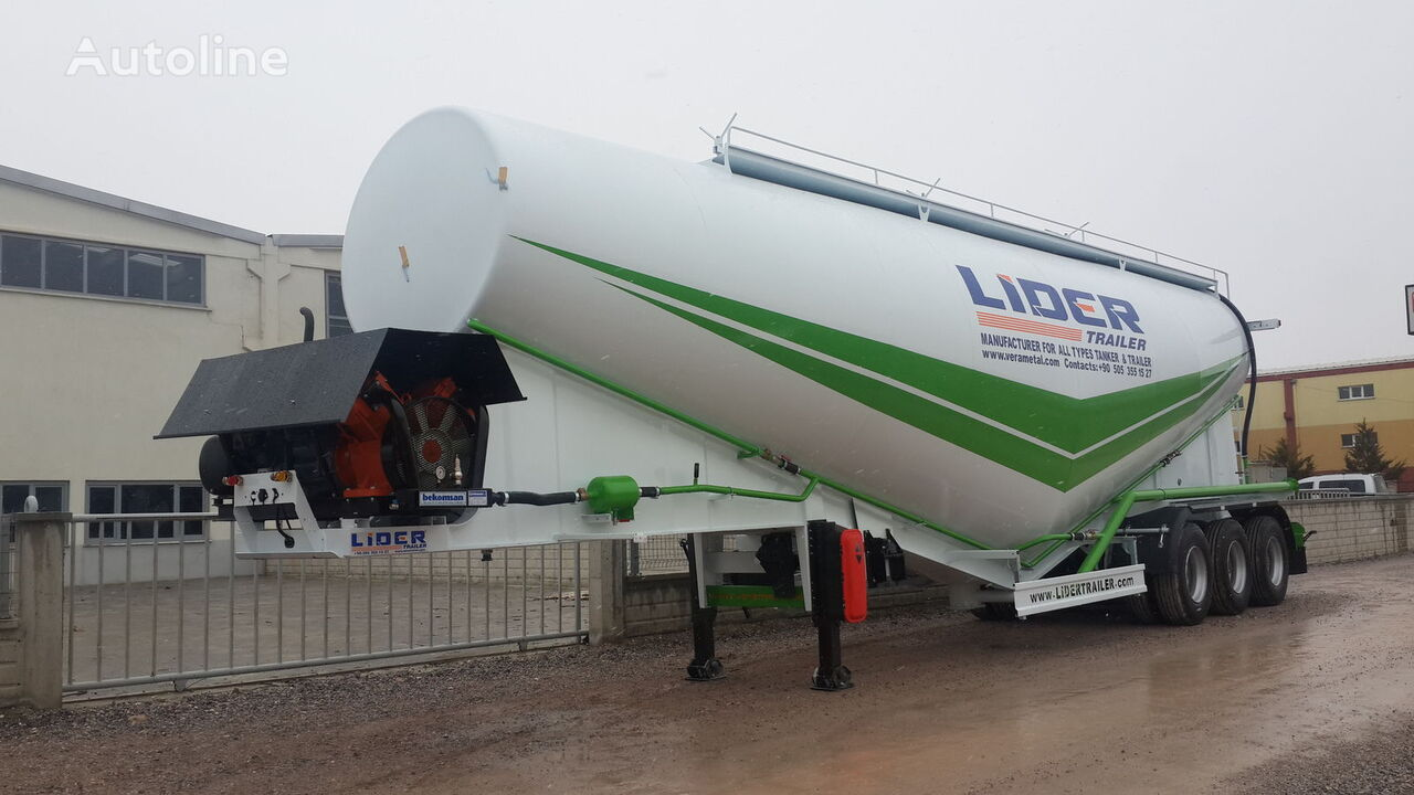 new LIDER 2020 NEW 80 TONS CAPACITY  FROM MANUFACTURER READY IN STOCK  cement tank trailer