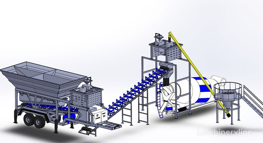 new CONMACH MobKing-30 concrete plant