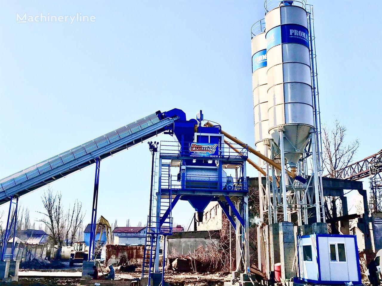 new PROMAX STATIONARY Concrete Batching Plant PROMAX S130-TWN (130m/h) concrete plant
