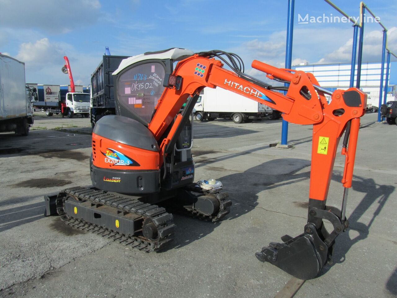 HITACHI EX20UR mini digger