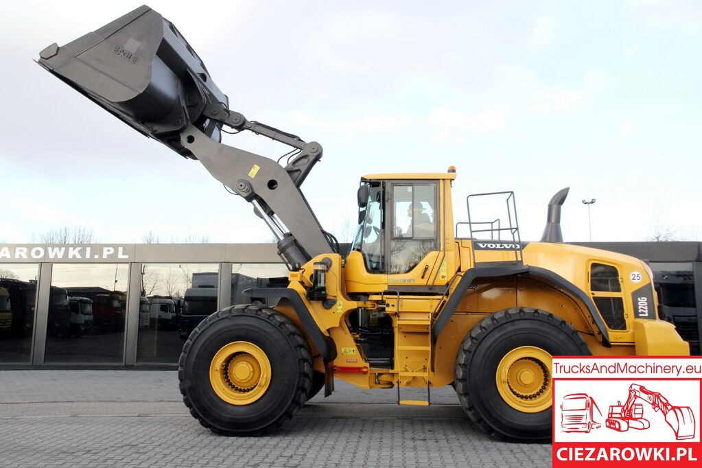 VOLVO 35,5t / L220G / OptiShift / LoadMaster 9000i/ Bucket 6m3/  wheel loader