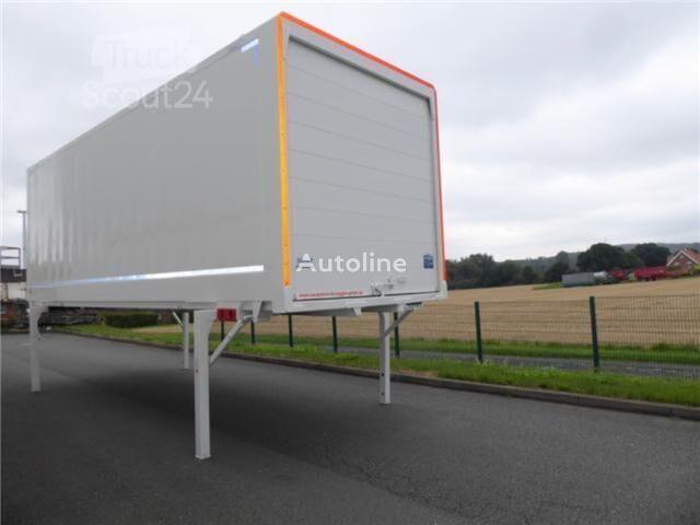 KRONE Wechselkoffer Heck Alu. Rolltor box truck body
