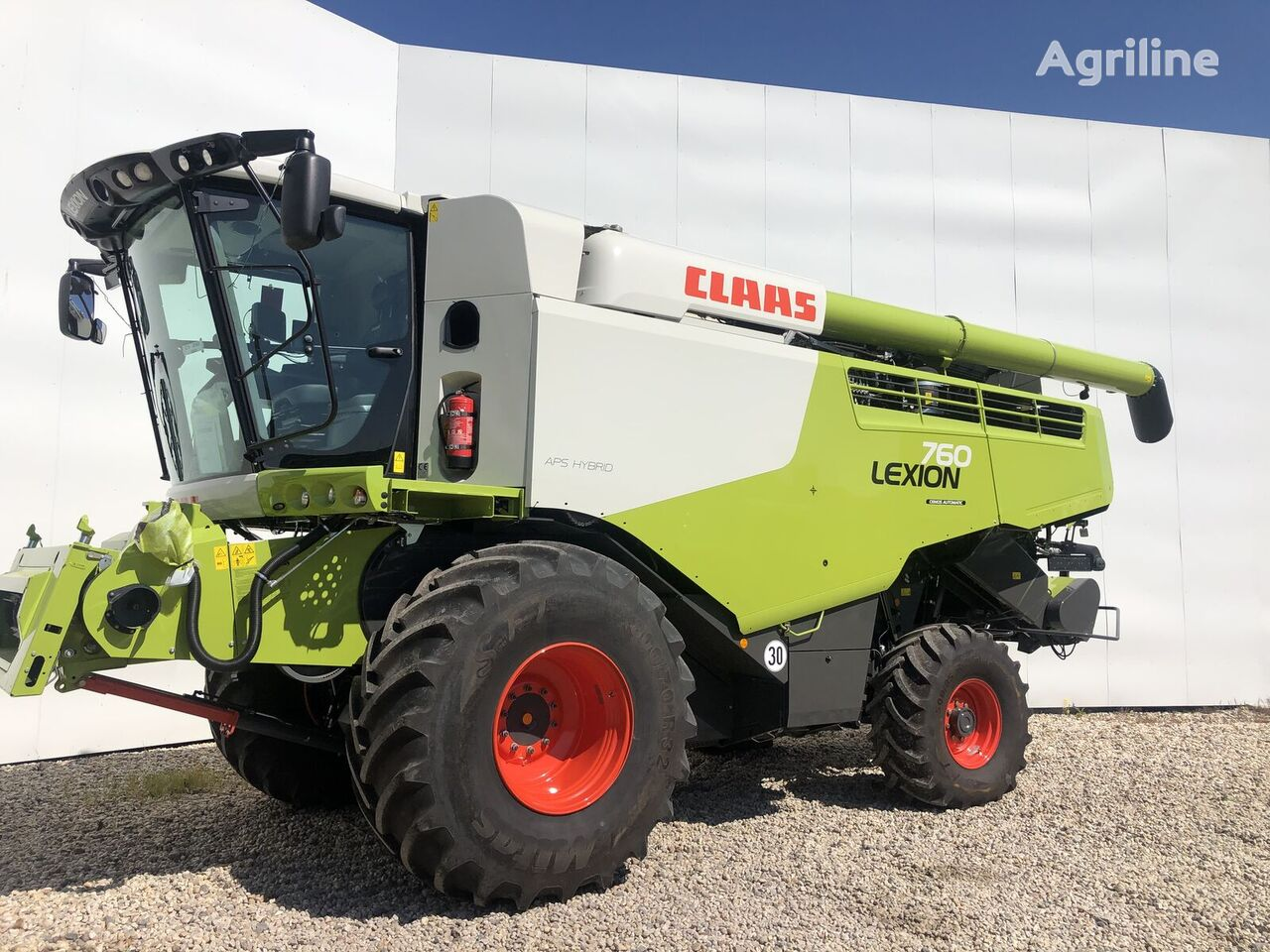 new CLAAS Lexion 760 combine-harvester