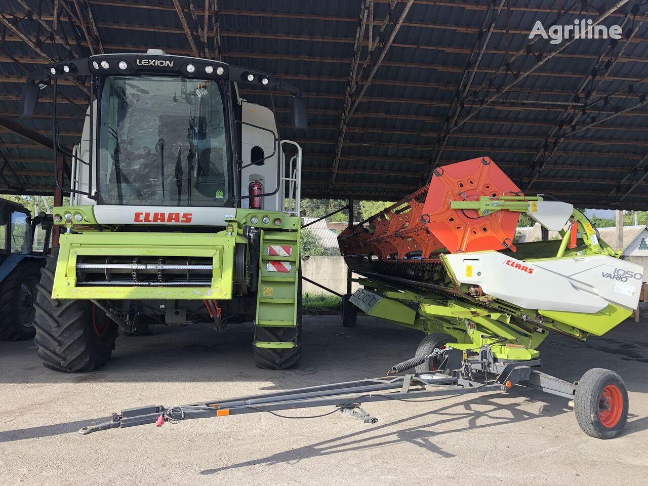 CLAAS Lexion 760 Z Nimechchini. PDV.  combine-harvester