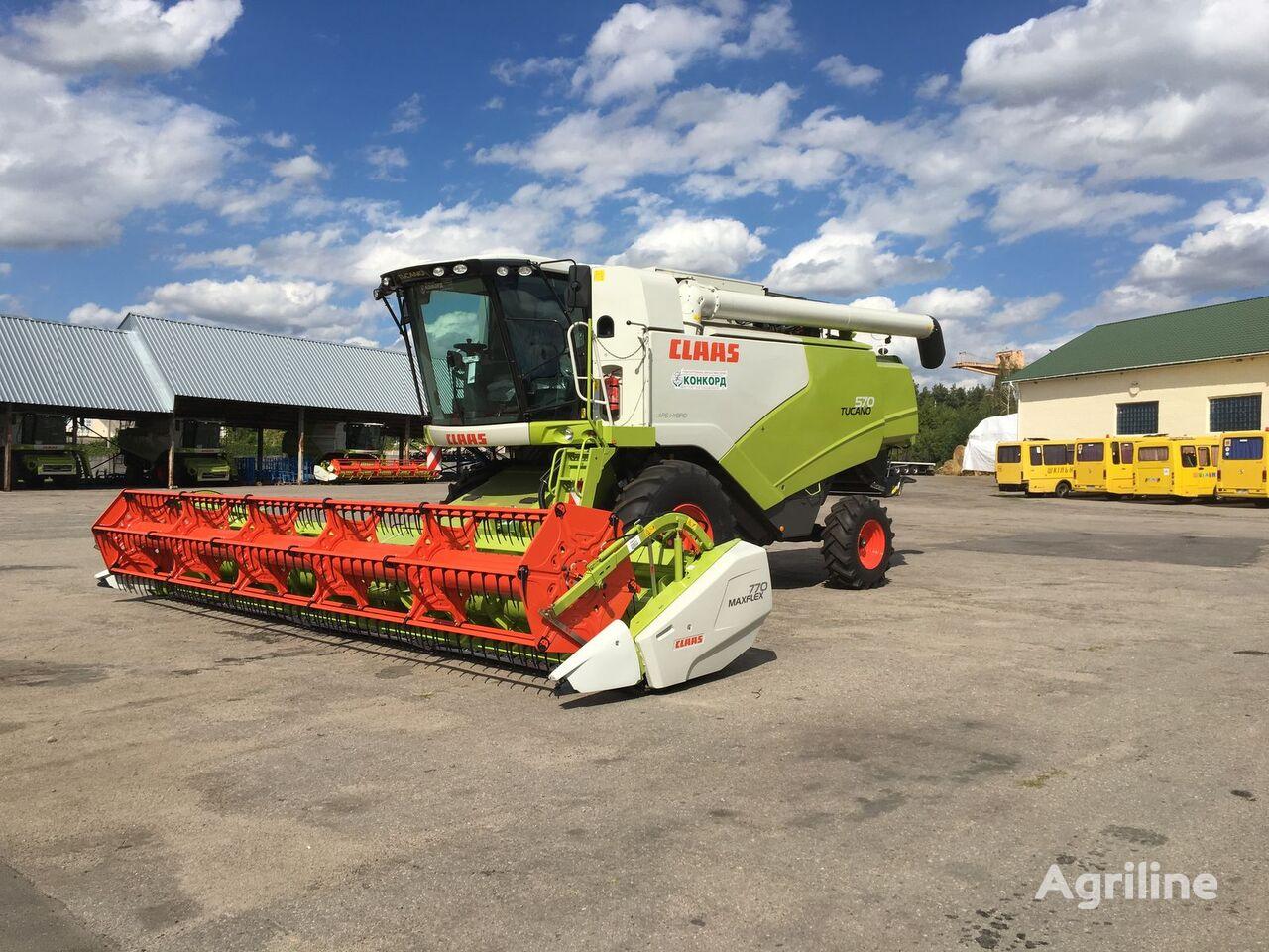 CLAAS TUCANO 570 combine-harvester