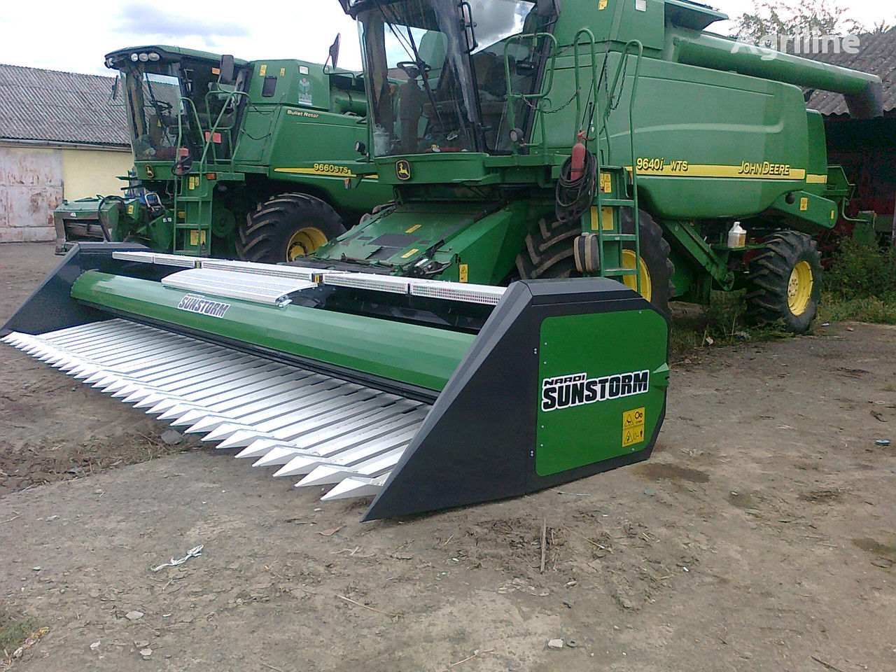 new NARDI SFH 600, 740, 940, 1200 sunflower harvesting equipment