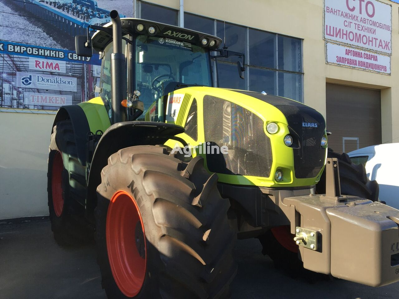 new CLAAS Axion 930 wheel tractor
