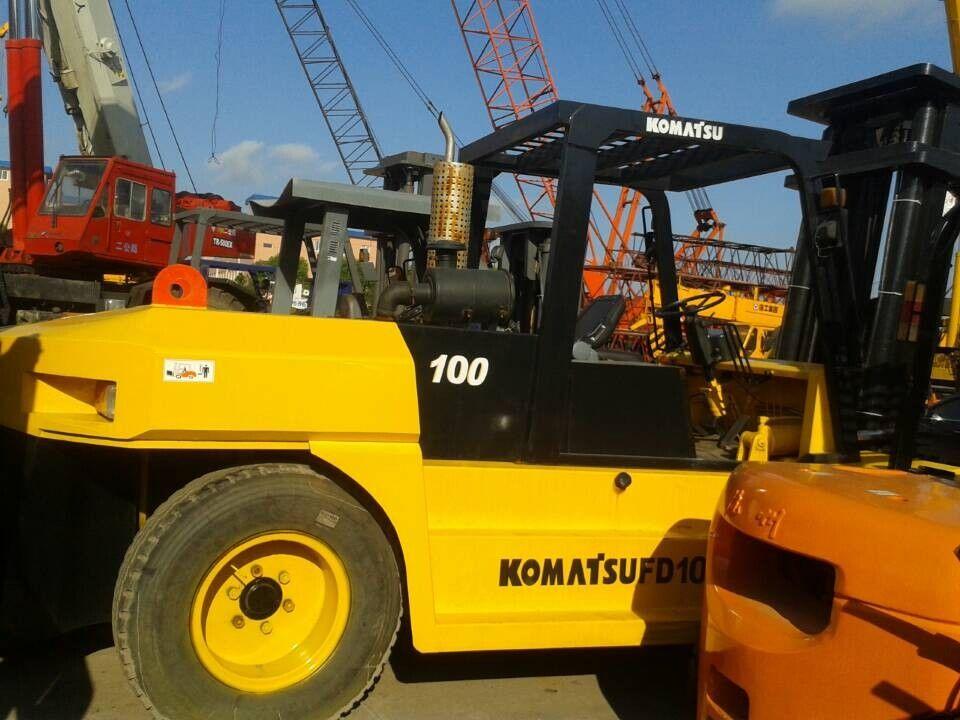 KOMATSU FD100T-6 container handler