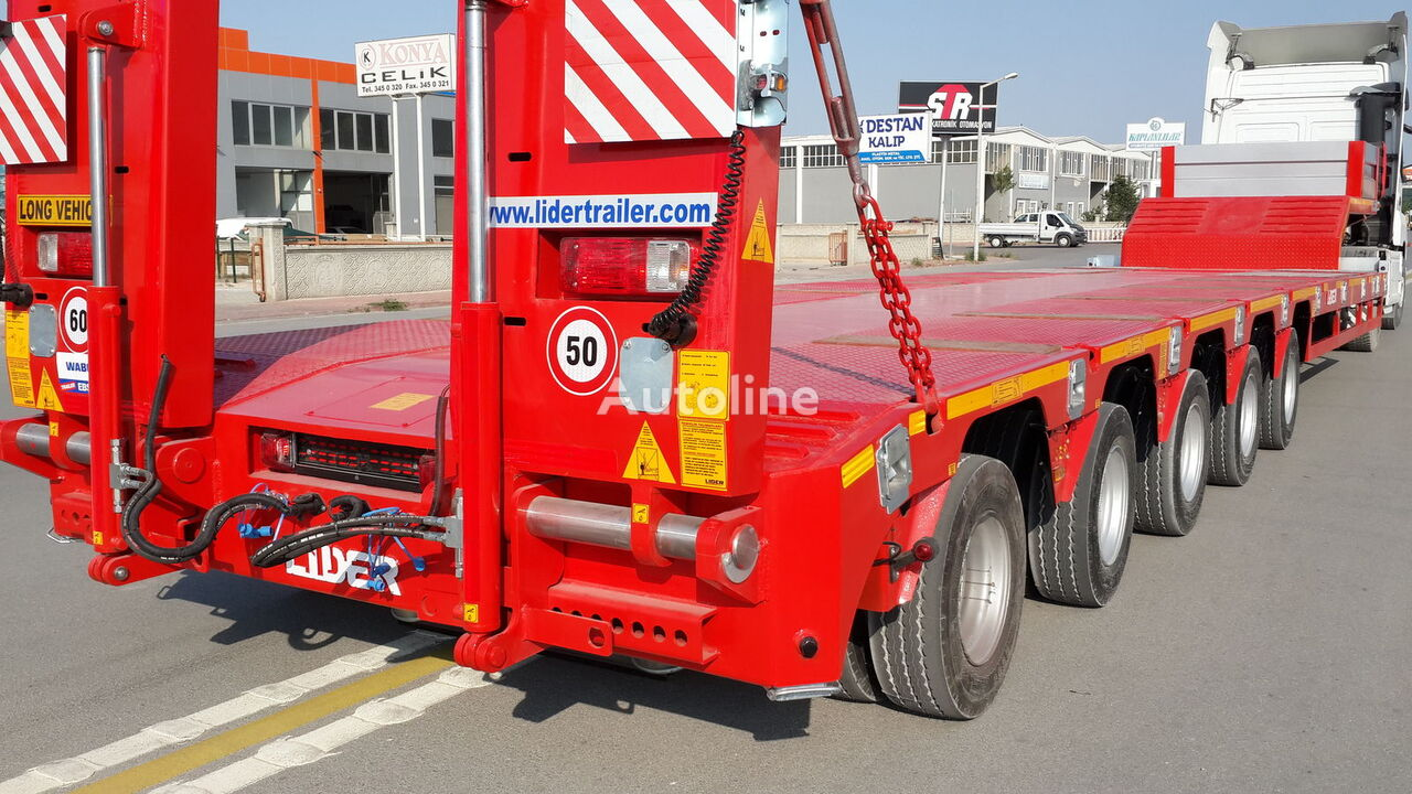 new LIDER 2020 NEW DIRECTLY FROM MANUFACTURER COMPANY AVAILABLE IN STOCK low bed semi-trailer