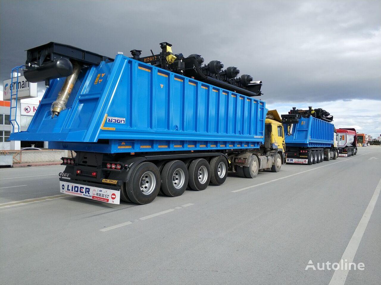 new LIDER 2020 MODEL NEW 35 Mt3 DUMPER ( BENNE ) tipper semi-trailer