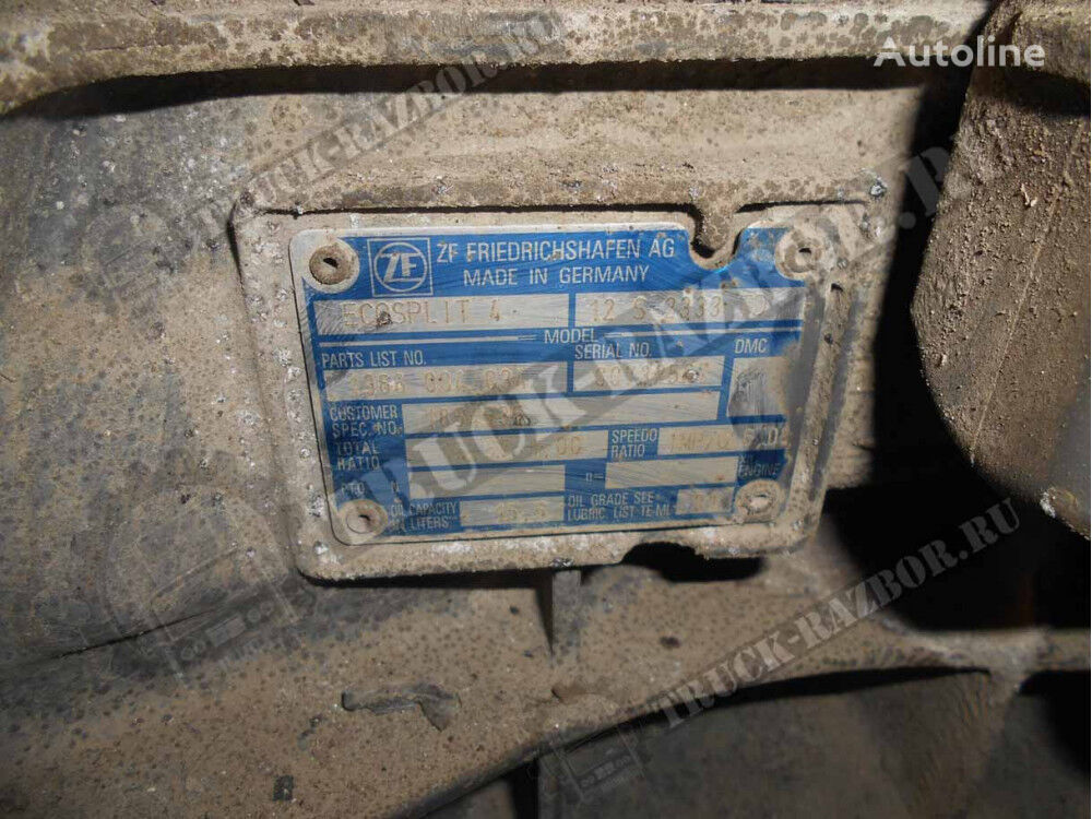 DAF KPP 12S2333TD gearbox for tractor unit