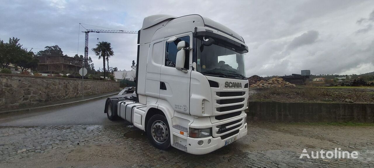 SCANIA 440 tractor unit
