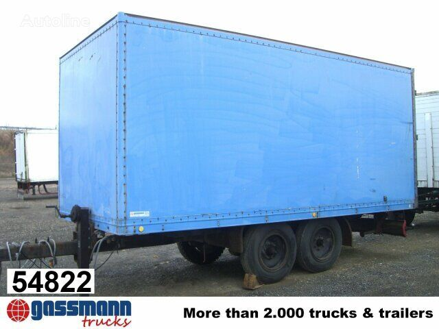 ACKERMANN TPW / A8,6/5,6E closed box trailer