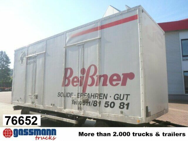 SOMMER closed box trailer