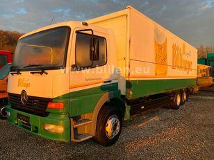 MERCEDES-BENZ 2523 6x2  Lenkachse Schwenkwand Schaltgetriebe box truck