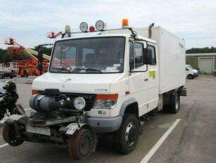 MERCEDES-BENZ 4x4 VARIO Schörling RAIL Two Way SchienenSERVICE box truck