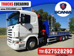 SCANIA R 440 car transporter