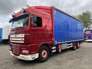 DAF XF 105.410 SC 6x2 curtainsider truck