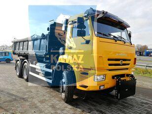 new KAMAZ 6x6 wywrotka dump truck