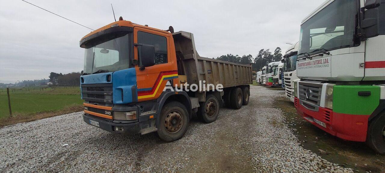 SCANIA 114c dump truck