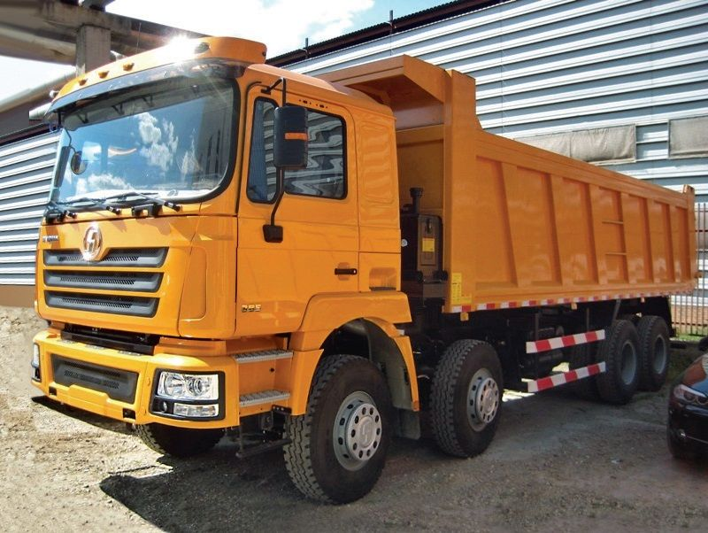 new SHACMAN SHAANXI F3000 8x4 dump truck