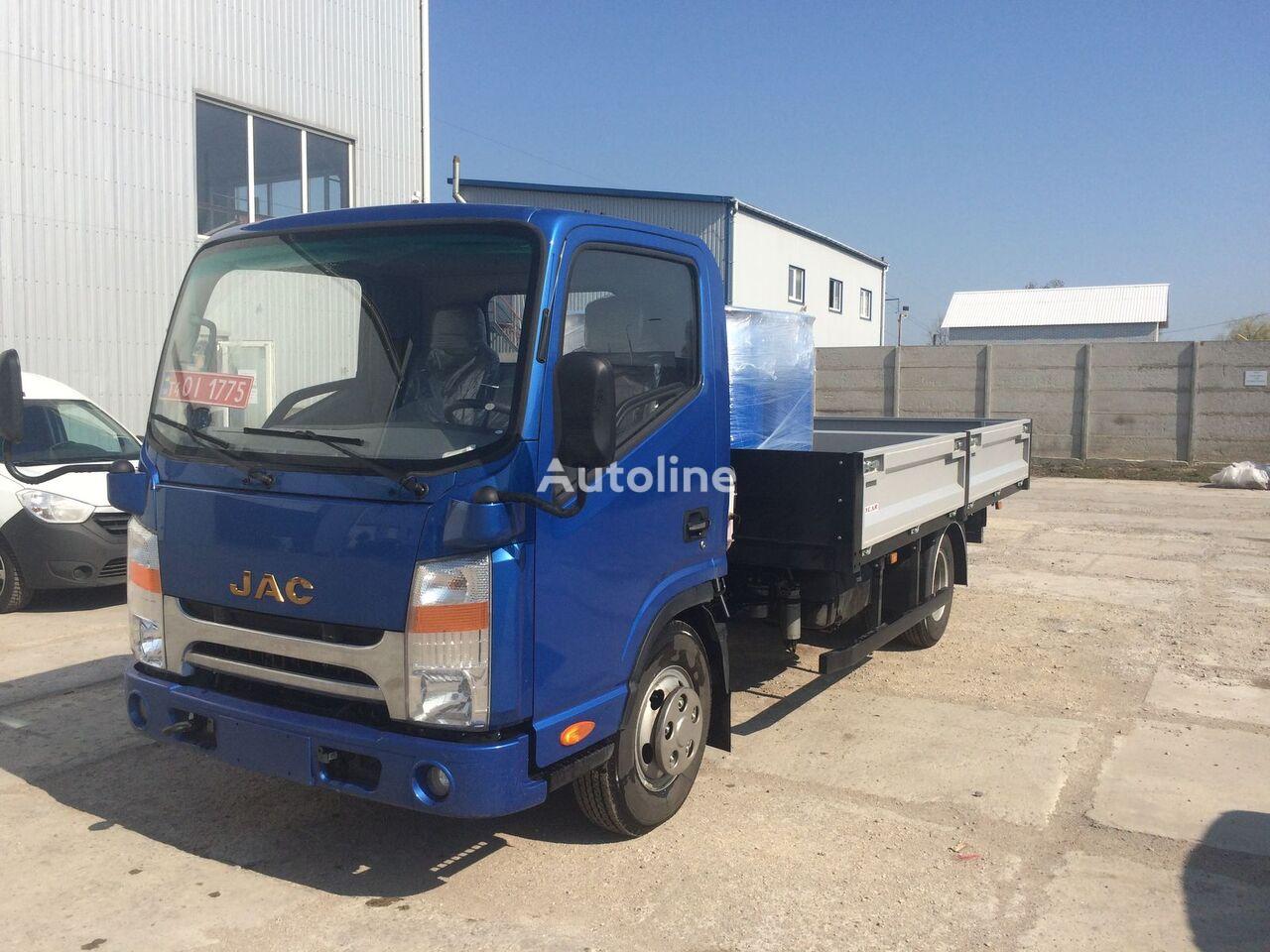new JAC N56 flatbed truck
