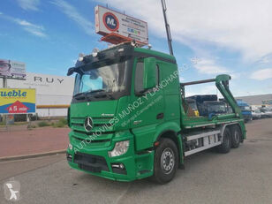 MERCEDES-BENZ 2642 skip loader truck