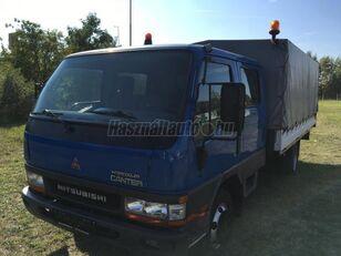 MITSUBISHI CANTER DOKA P+P 4m-es platóval tilt truck