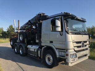 MERCEDES-BENZ Actros 2651 V8 6x4 z dzwigiem JONSERED do drewna timber truck