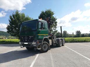 MERCEDES-BENZ Actros 3344 timber truck