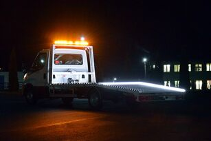 new IVECO DAILY NAJAZD AUTOLAWETA POMOC DROGOWA ALUMINIOWA HOMOLOGACJA tow truck